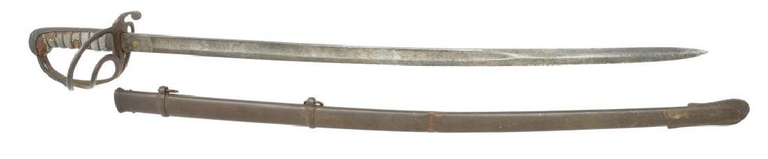 BRITISH ARTILLERY SWORD & CIVIL WAR PAPER. - 2