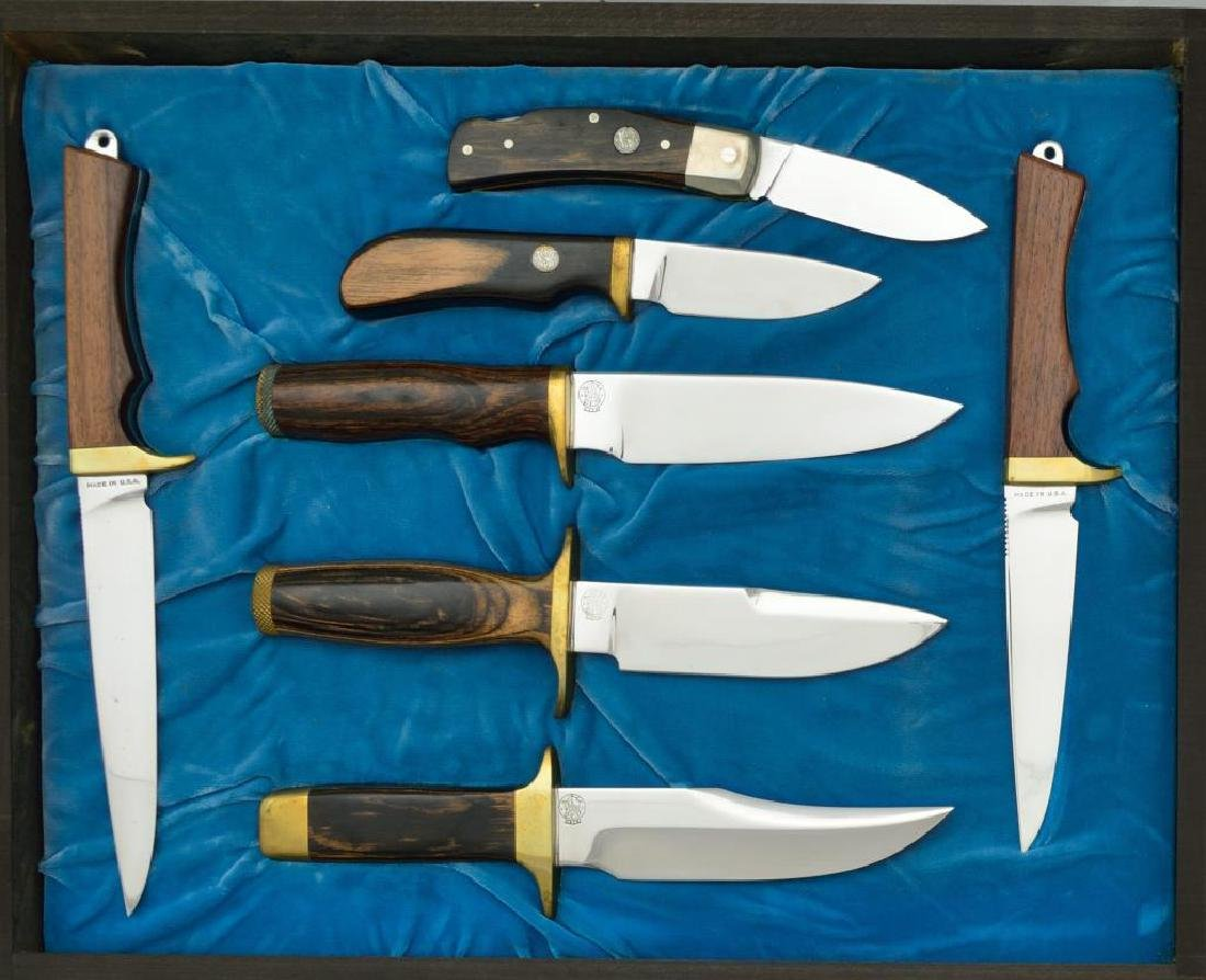 SMITH & WESSON KNIVES DESIGNED BY BLACKIE COLLINS. - 2