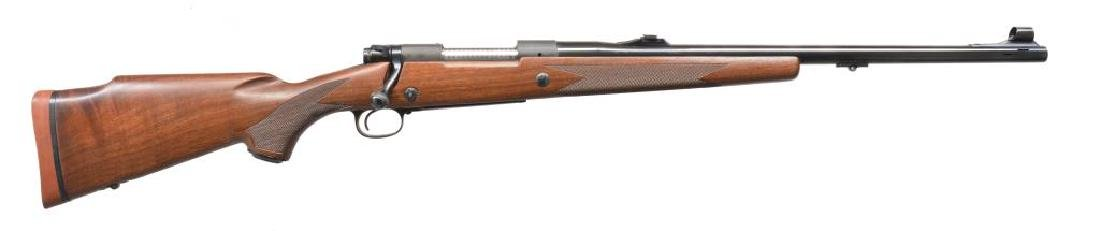 WINCHESTER 70 SUPER EXPRESS BOLT ACTION RIFLE.