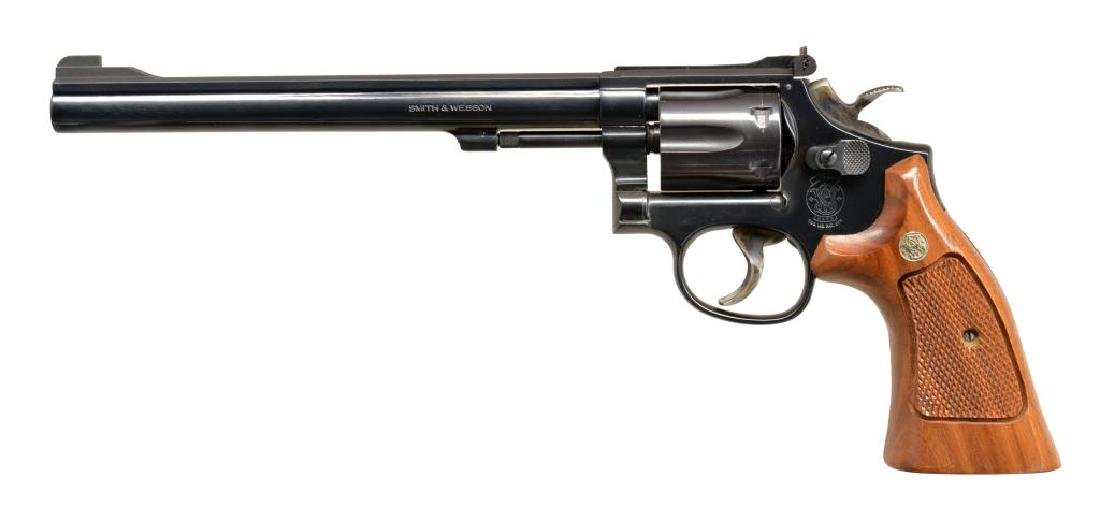 SMITH & WESSON MODEL 17-5 REVOLVER.