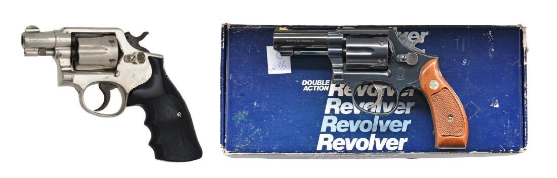 2 SMITH & WESSON REVOLVERS.