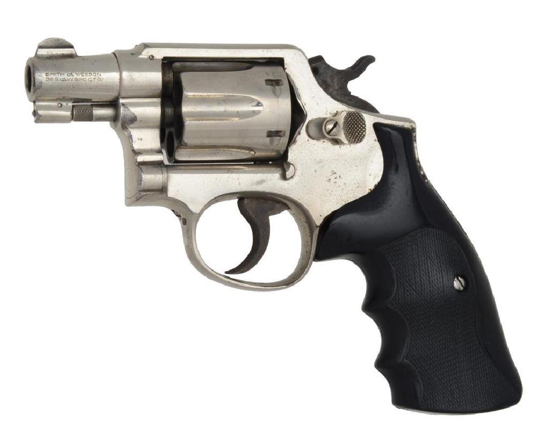 2 SMITH & WESSON REVOLVERS. - 3