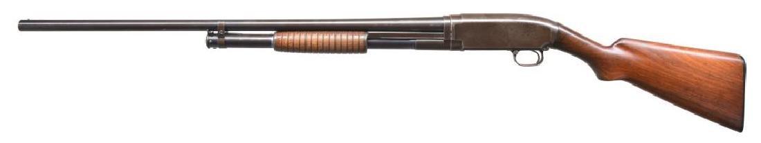 4 WINCHESTER MODEL 12 PUMP SHOTGUNS. - 3
