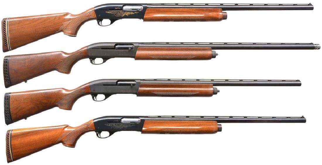 4 REMINGTON AUTOLOADING SHOTGUNS.