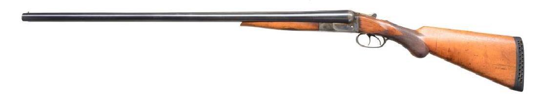 IVER JOHNSON HAMMERLESS MONOBLOCK SXS SHOTGUN. - 2
