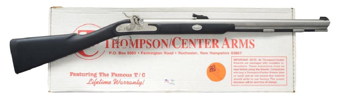 THOMPSON CENTER GRAYHAWK PERCUSSION RIFLE.