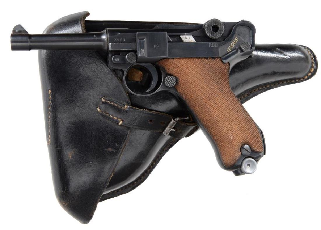 MAUSER EARLY byf CODE 41 DATE LUGER SEMI AUTO