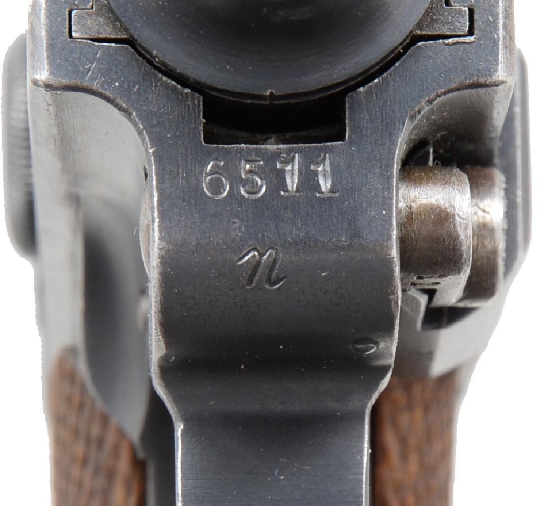 DWM COMMERCIAL MODEL 1920 LUGER SEMI AUTO PISTOL. - 4