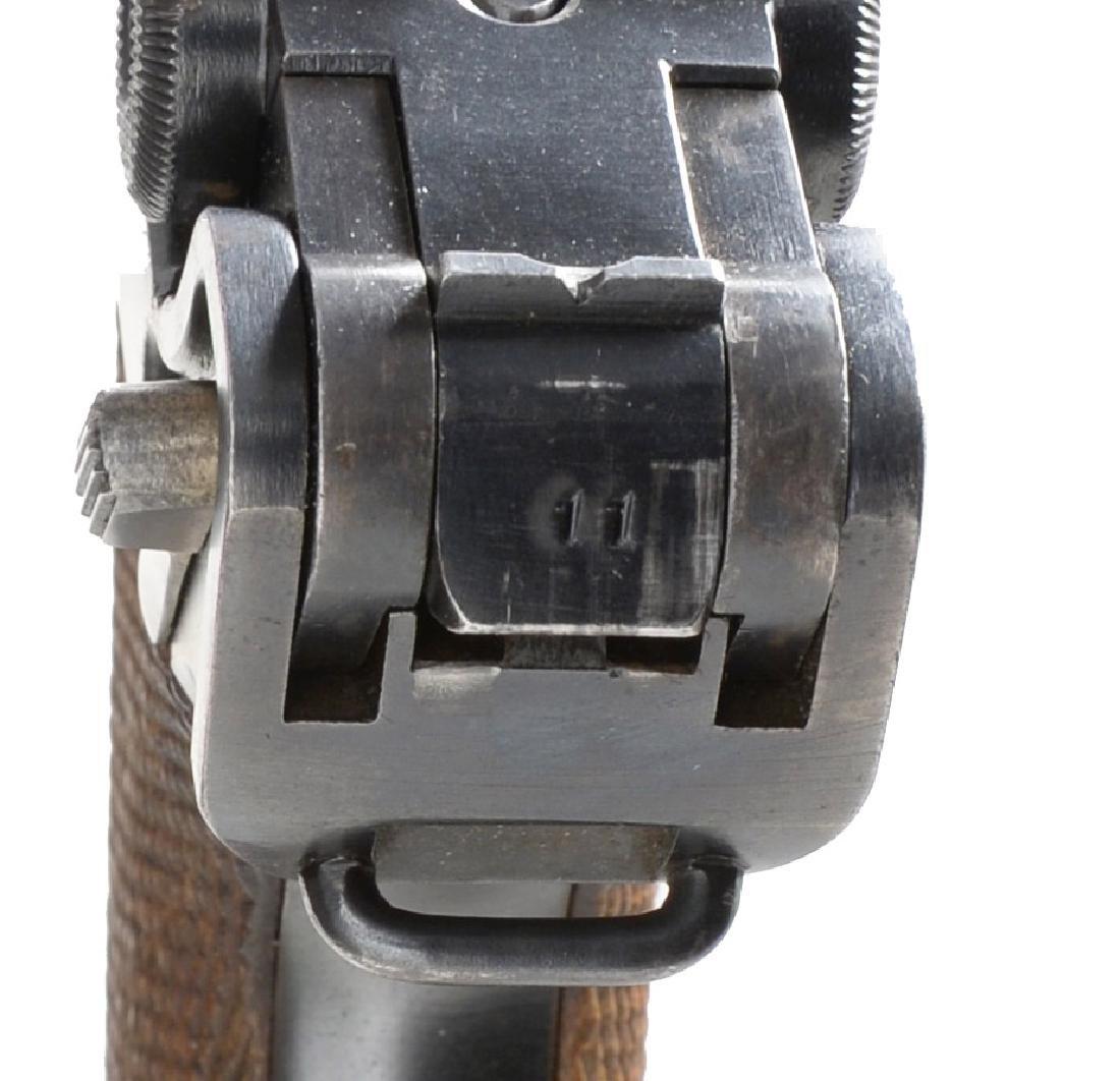 DWM COMMERCIAL MODEL 1920 LUGER SEMI AUTO PISTOL. - 5