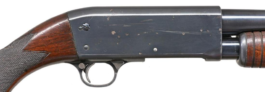ITHACA MODEL 37 TRENCH PUMP SHOTGUN. - 3