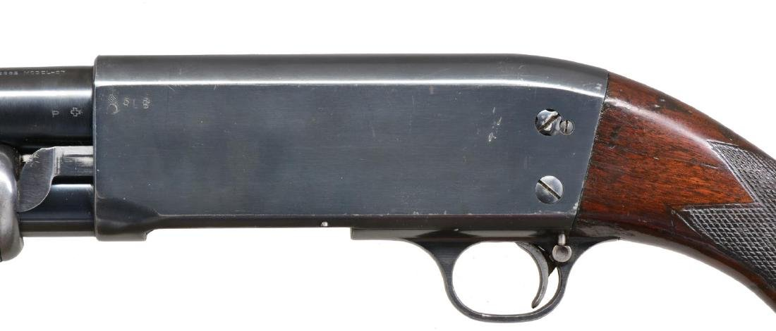 ITHACA MODEL 37 TRENCH PUMP SHOTGUN. - 4