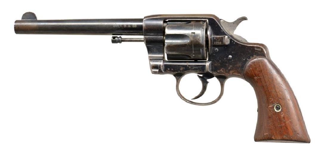COLT 1896 U.S. ARMY MARKED DA REVOLVER.