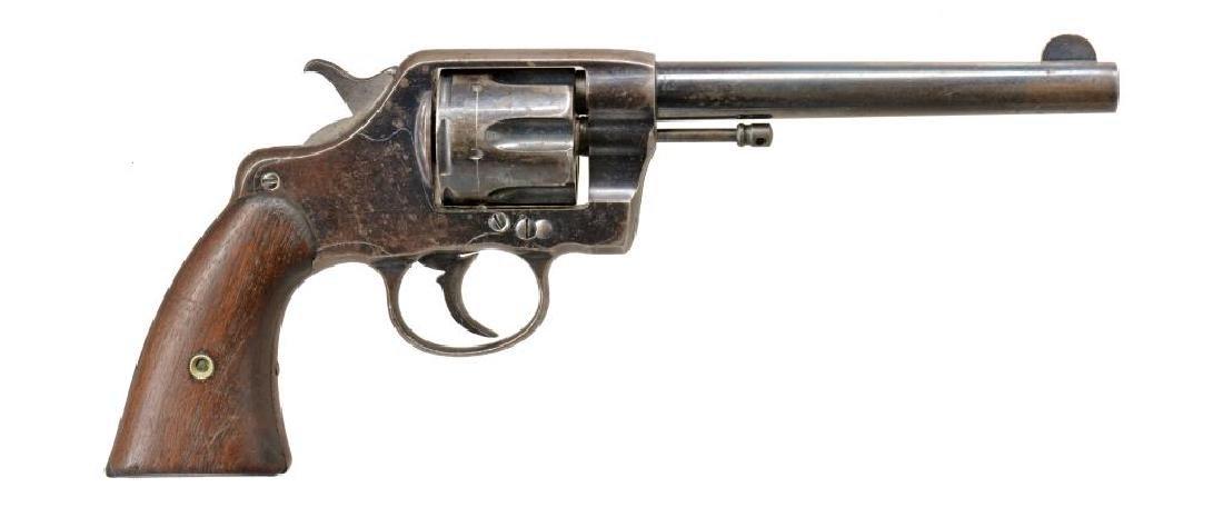COLT 1896 U.S. ARMY MARKED DA REVOLVER. - 2