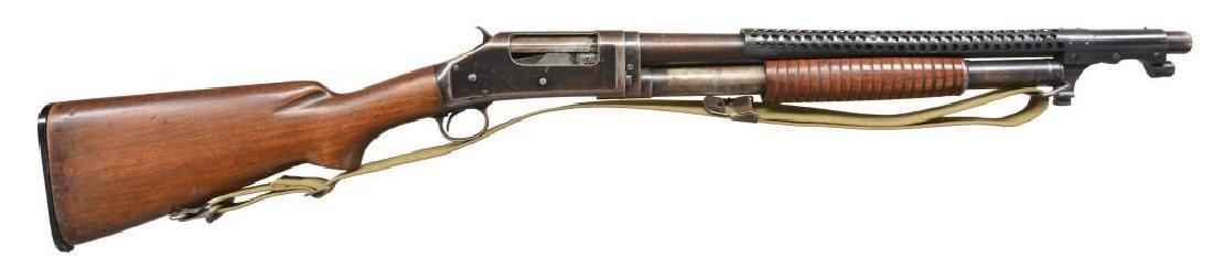 WINCHESTER MODEL 1897 TRENCH PUMP SHOTGUN.