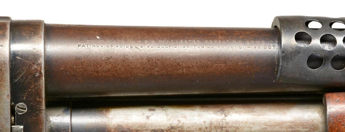 WINCHESTER MODEL 1897 TRENCH PUMP SHOTGUN. - 6