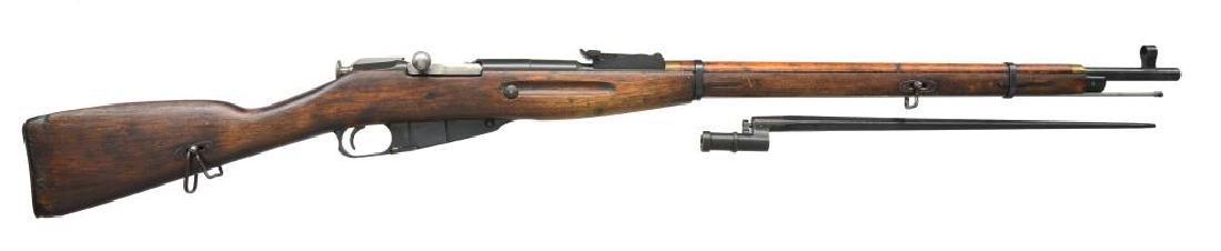 IZHEVSK MODEL 91-30 BOLT ACTION RIFLE.