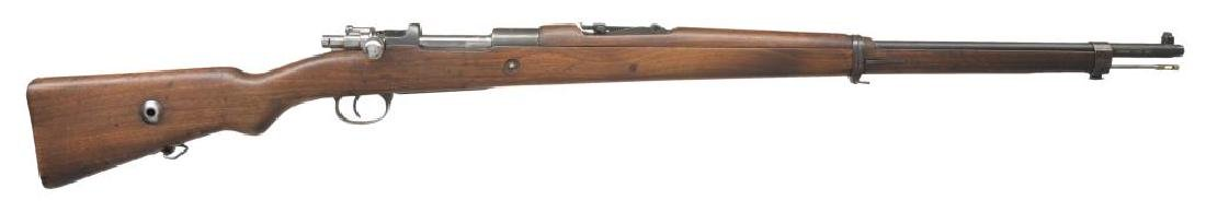 6 CURIO BOLT ACTION RIFLES. - 6