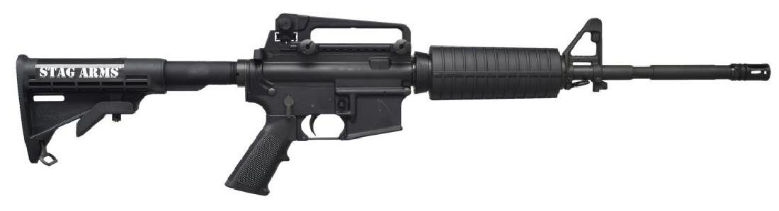 STAG ARMS STAG-15L M4 SEMI AUTO RIFLE.