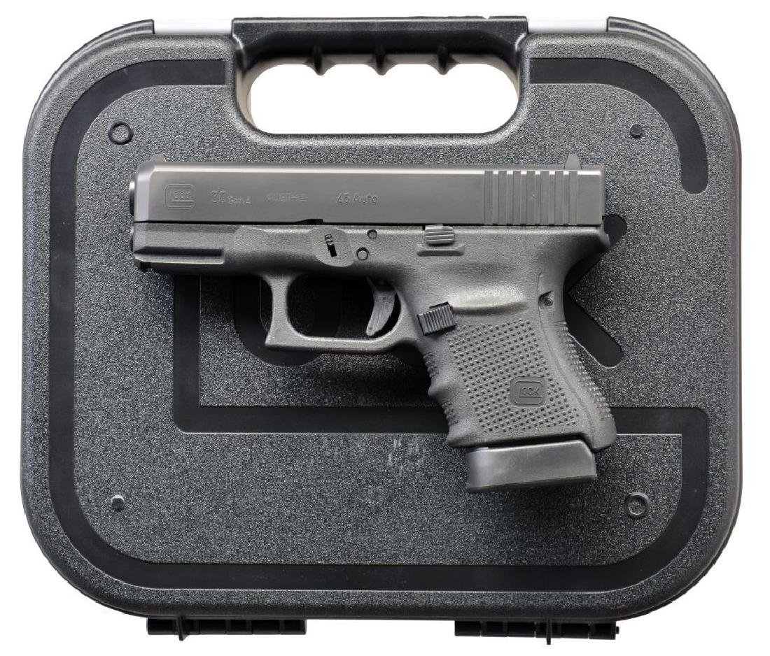 3 CONSECUTIVE GLOCK MODEL 30 GEN. 4 SEMI AUTO - 2