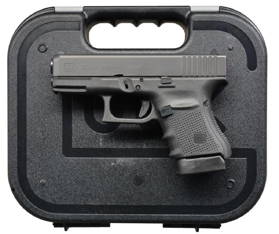 3 CONSECUTIVE GLOCK MODEL 30 GEN. 4 SEMI AUTO - 8