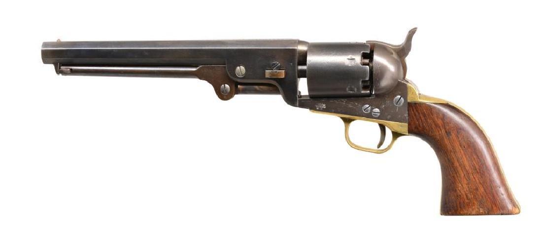 COLT 1851 U.S. INSPECTED NAVY REVOLVER.