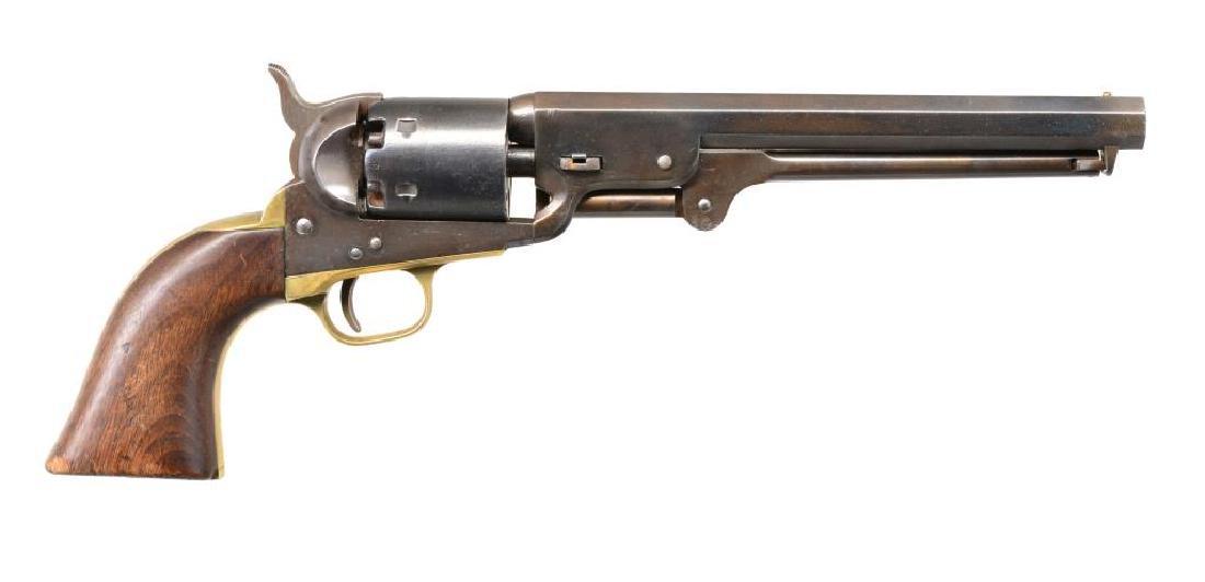 COLT 1851 U.S. INSPECTED NAVY REVOLVER. - 2