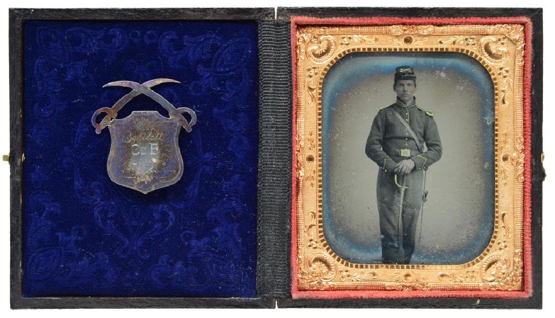 FINE AND RARE CIVIL WAR GROUPING IDENTIFIED TO