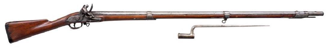 CONTRACT M1808 FLINTLOCK MUSKET & BAYONET.