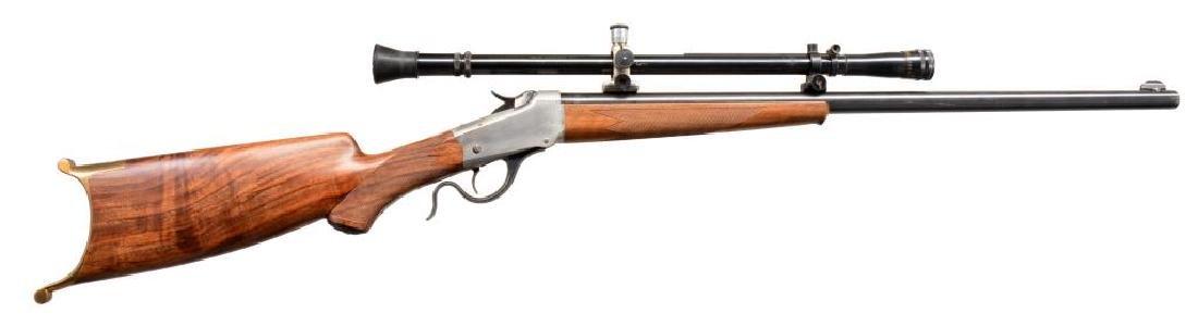 WINCHESTER 1885 CUSTOM SINGLE SHOT RIFLE.