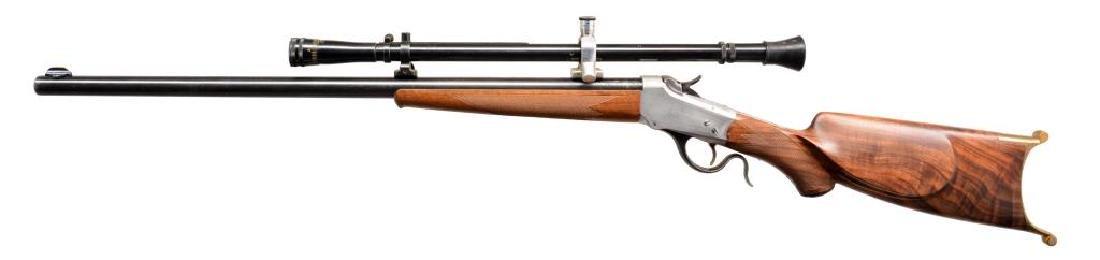 WINCHESTER 1885 CUSTOM SINGLE SHOT RIFLE. - 2