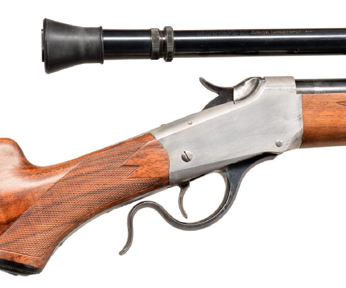 WINCHESTER 1885 CUSTOM SINGLE SHOT RIFLE. - 3