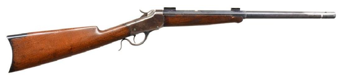 2 WINCHESTER 1885 SINGLE SHOT RIFLES. - 2