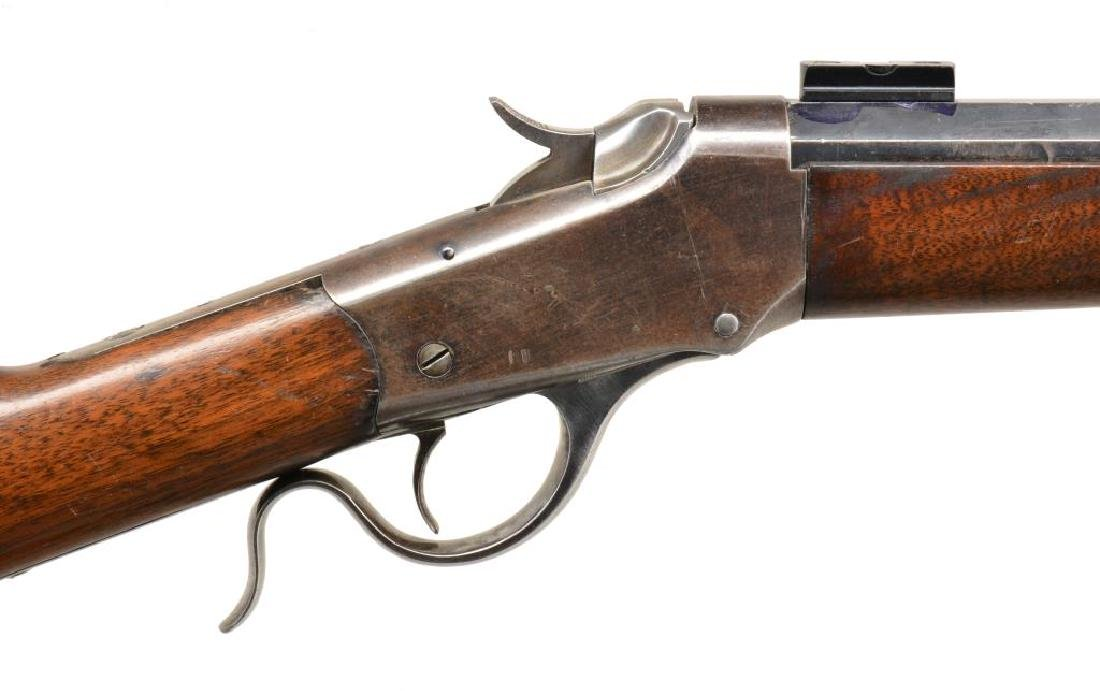 2 WINCHESTER 1885 SINGLE SHOT RIFLES. - 4