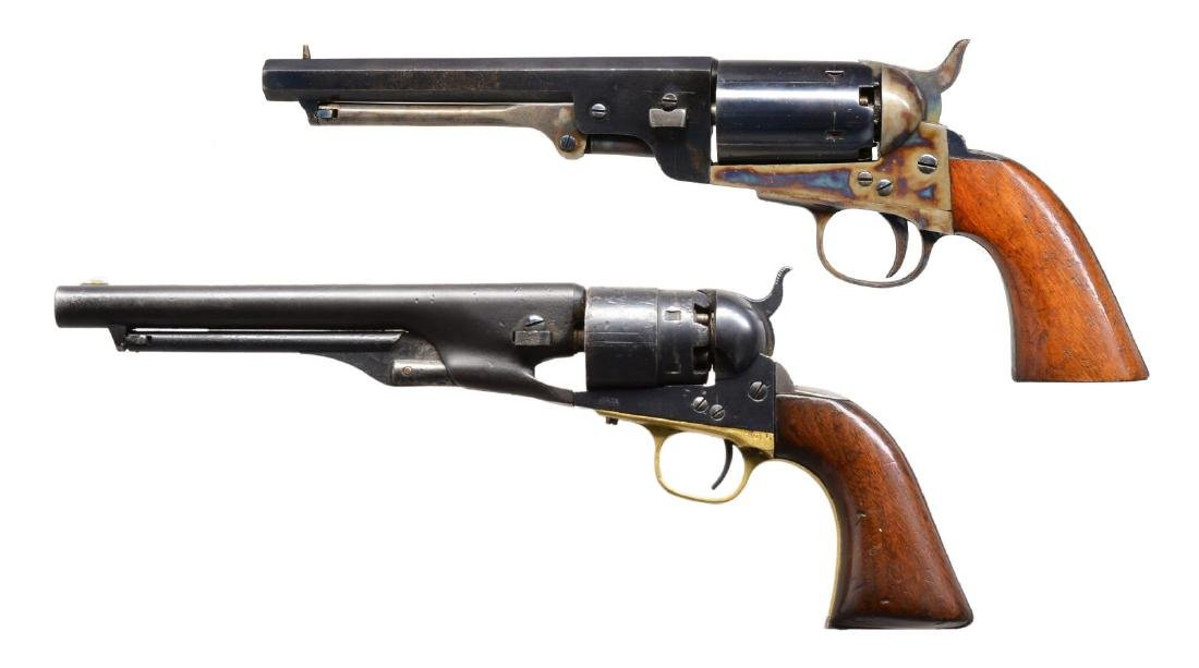 2 COLT 1860 ARMY REVOLVERS.