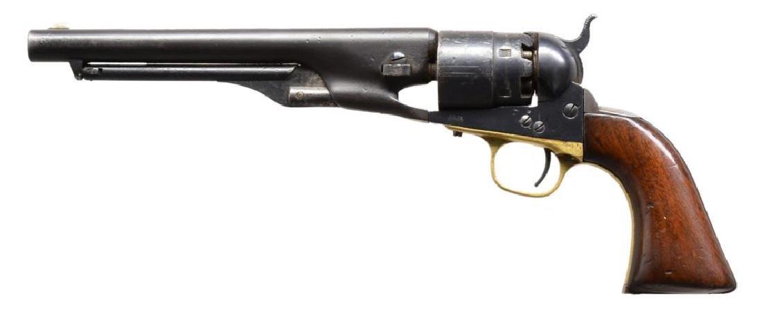 2 COLT 1860 ARMY REVOLVERS. - 2