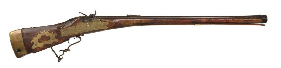 EARLY PERCUSSION CONVERSION RIFLE. - 2