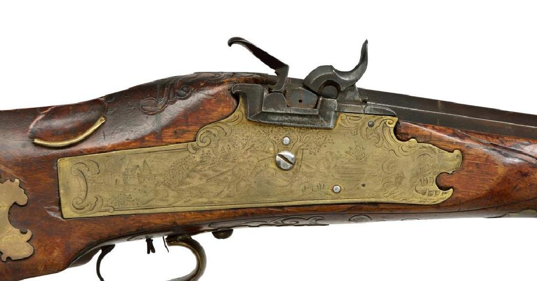 EARLY PERCUSSION CONVERSION RIFLE. - 3