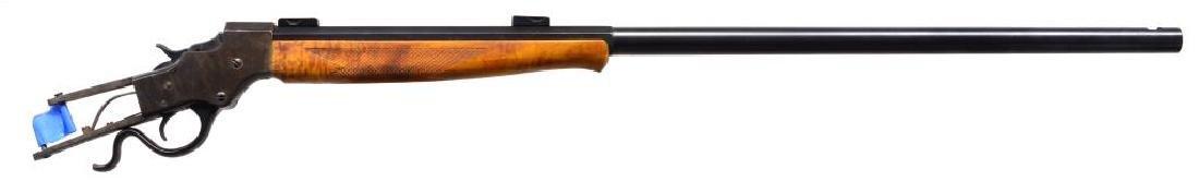 STEVENS NO. 44 IDEAL SINGLE SHOT RIFLE.