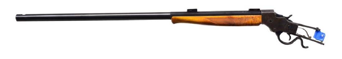 STEVENS NO. 44 IDEAL SINGLE SHOT RIFLE. - 2