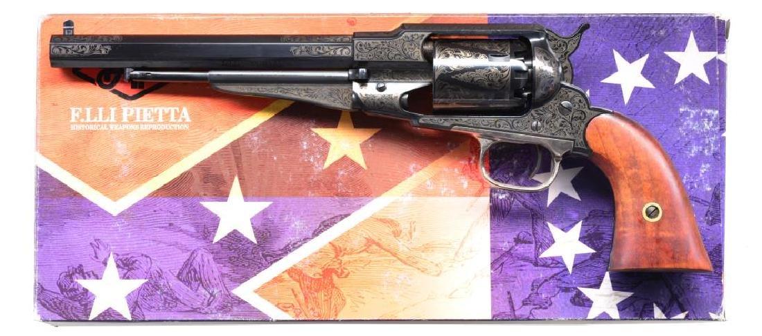 PIETTA 1858 NEW MODEL ARMY REVOLVER.