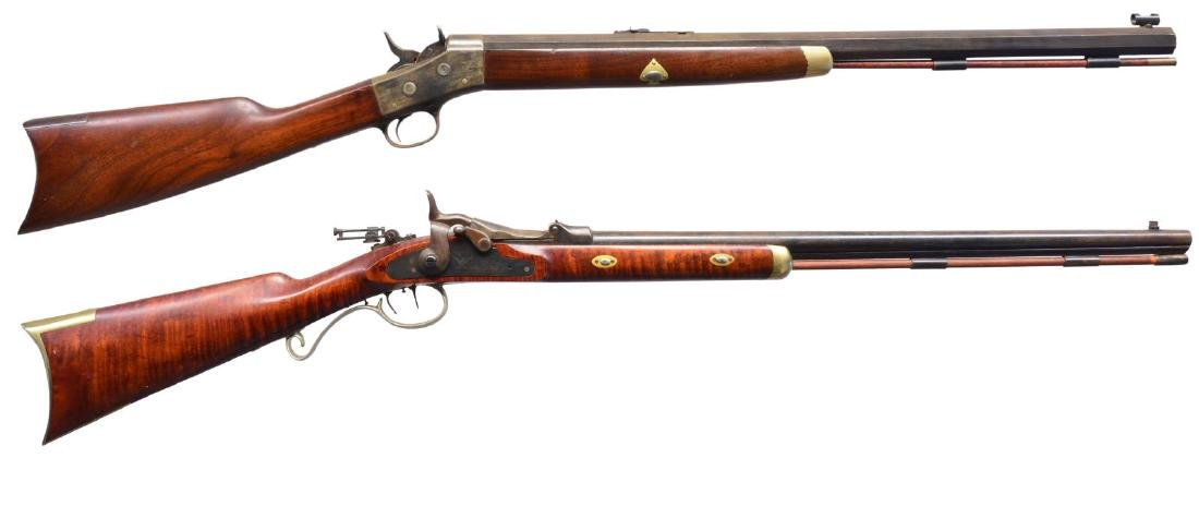REMINGTON & SPRINGFIELD CUSTOMIZED SINGLE SHOT