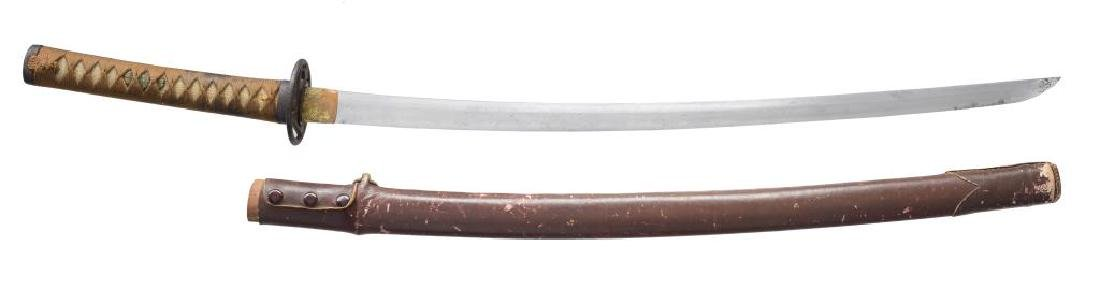 JAPANESE KANTANA WITH ANCIENT BLADE.