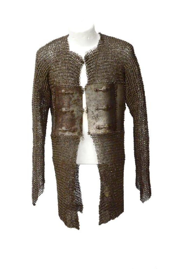 INDO-PERSIAN CHAIN MAIL ARMOR.