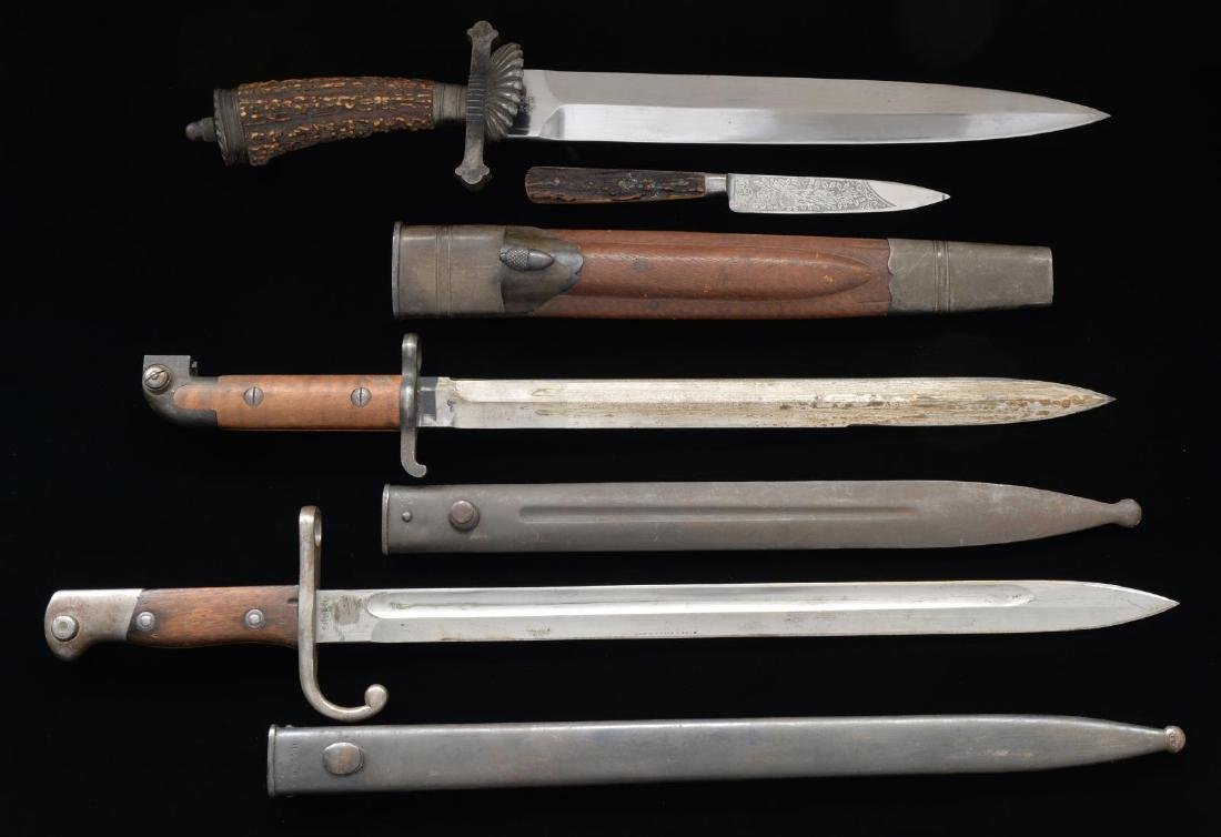 18 REPRO WWII GERMAN DAGGERS, 3 BAYONETS, 3 BLADES - 8