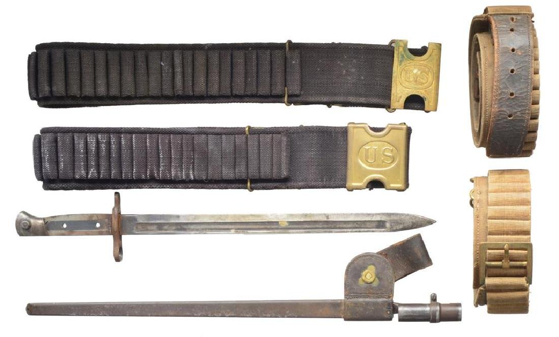 1870'S VINTAGE FIREARMS ACCOUTREMENTS.