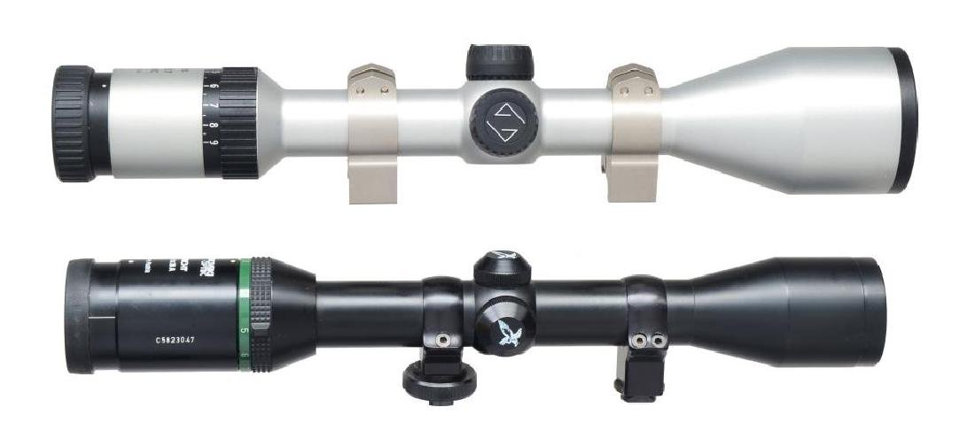 CARL ZEISS & SWAROVSKI RIFLE SCOPES. - 2