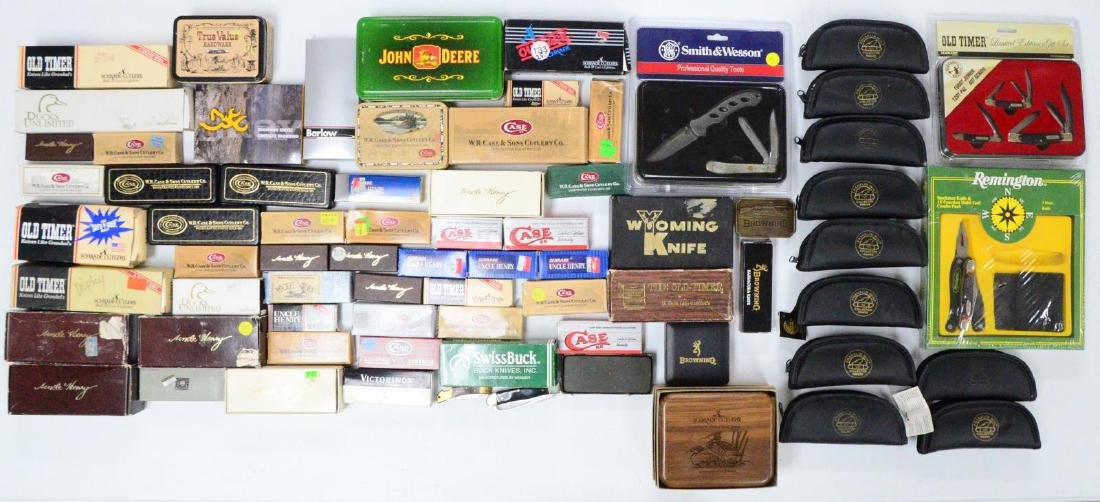 LARGE LOT OF COMMERCIAL KNIVES. - 3