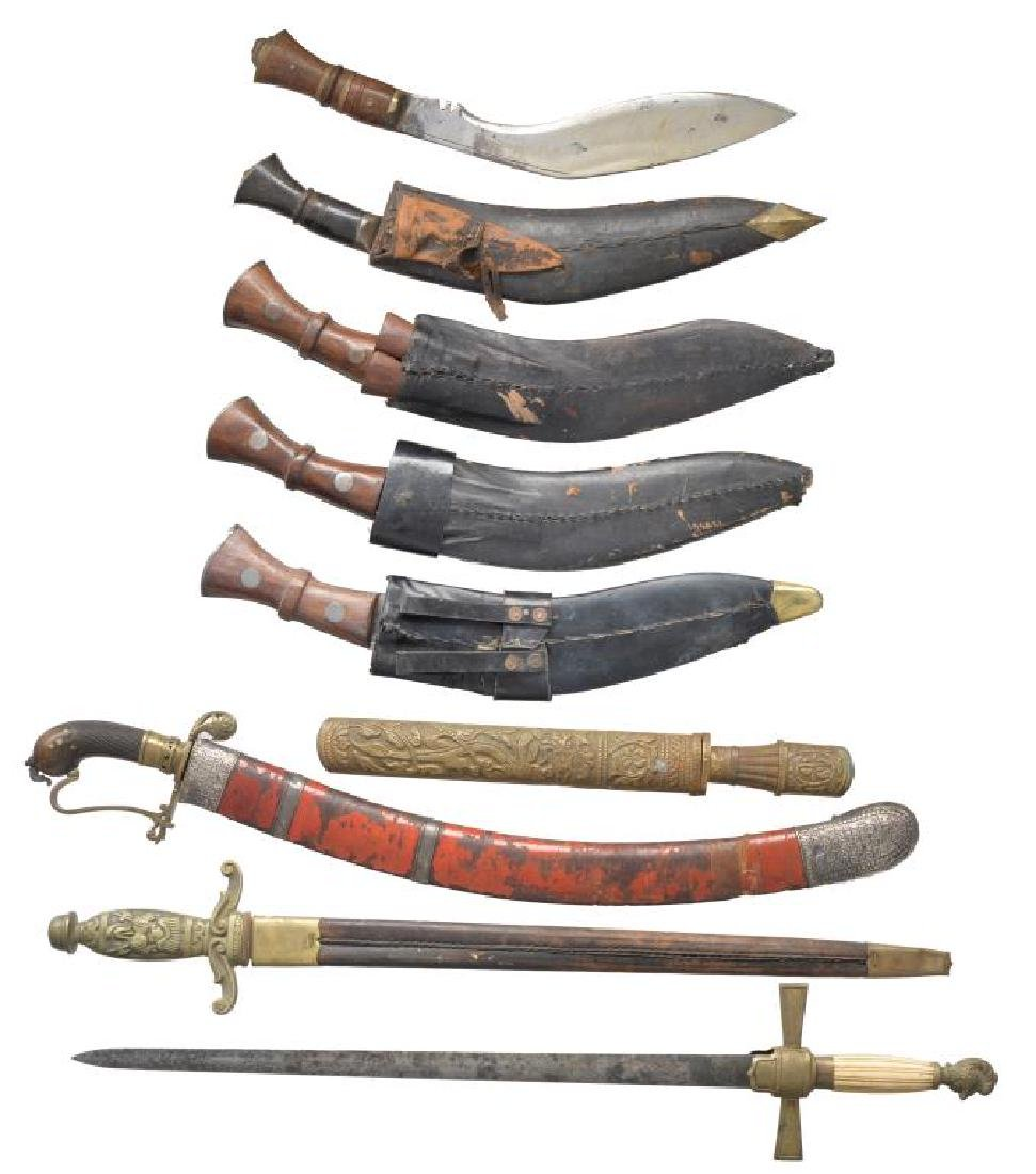 13 SWORDS & OTHER EDGED WEAPONS. - 5