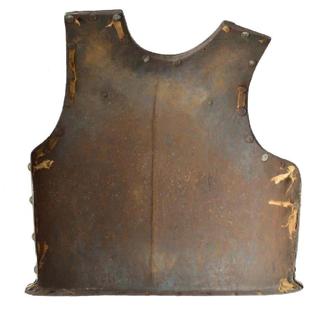 5 EDGED WEAPONS, 18TH CENTURY CUIRASS & - 6