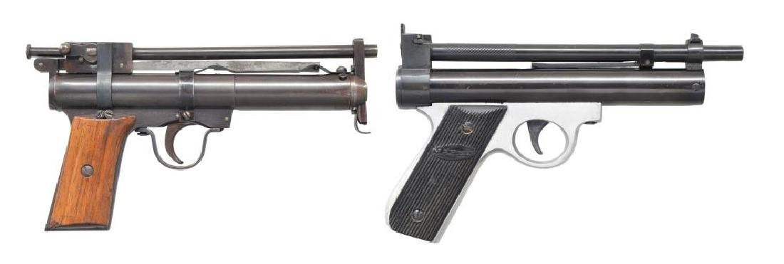 MAHELY PELLET PISTOL & COGSWELL & HARRISON AIR